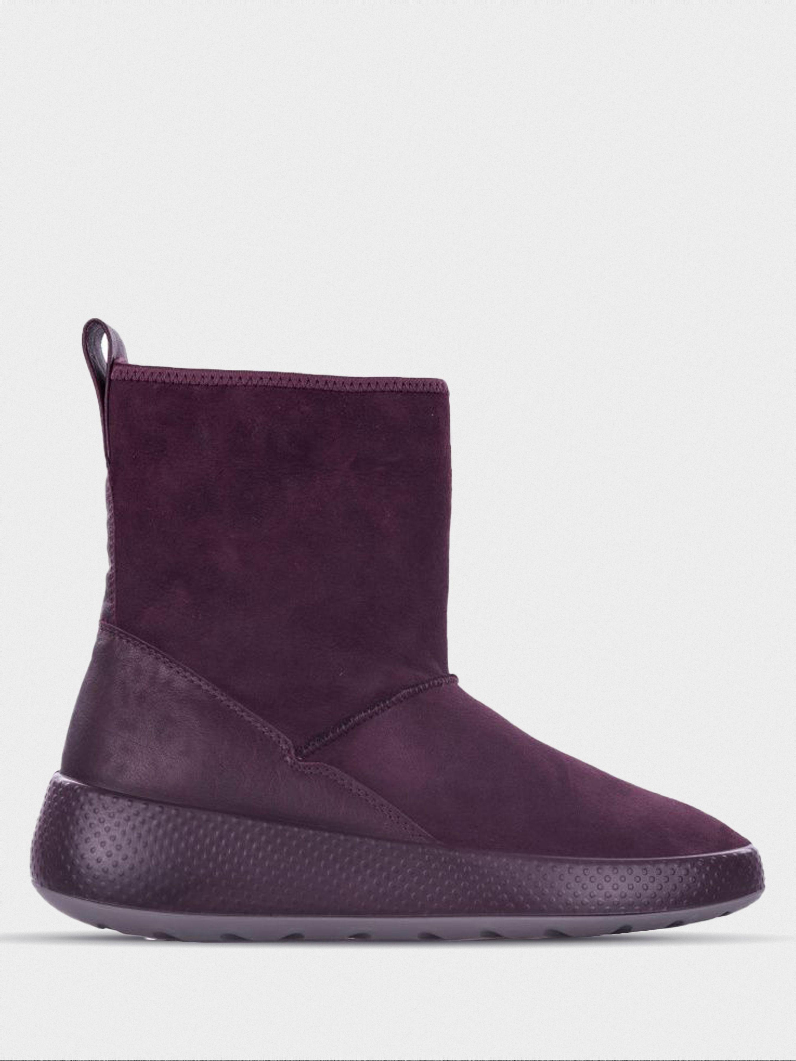 жіночі чоботи ecco ukiuk 221003(50768) шкіряні