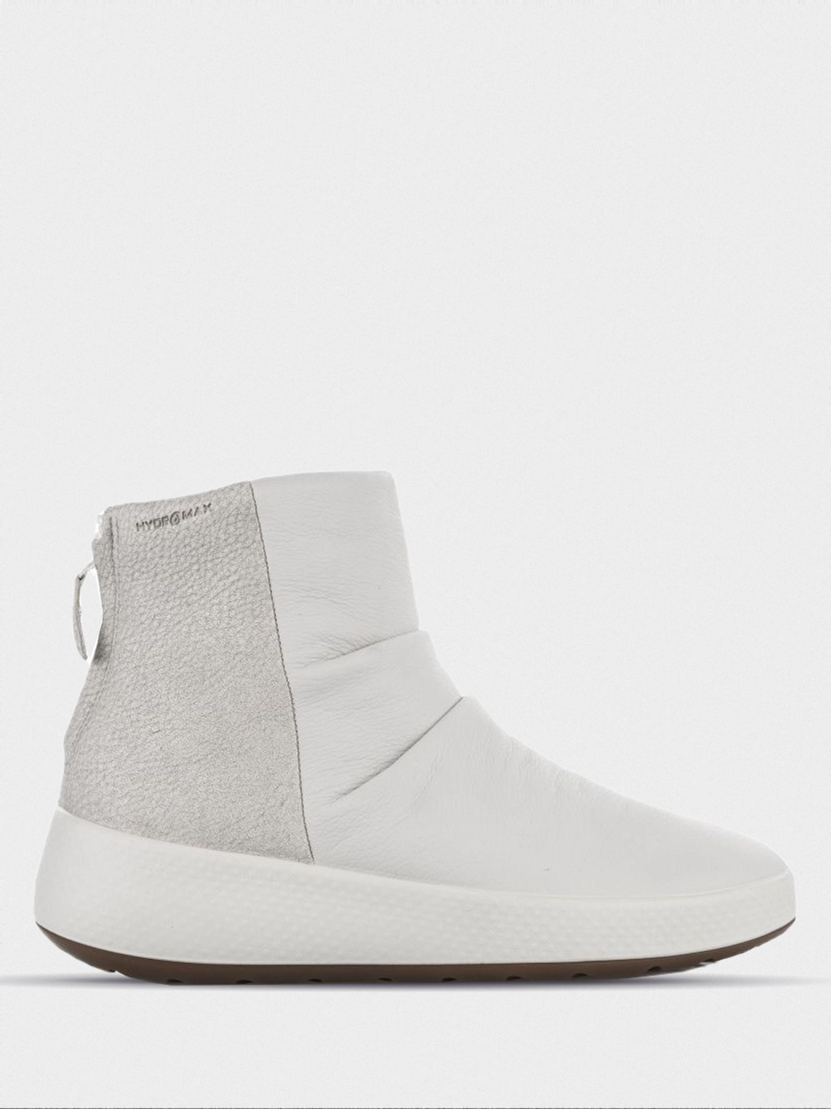 Купить Ботинки женские ECCO UKIUK ZW6081, Белый