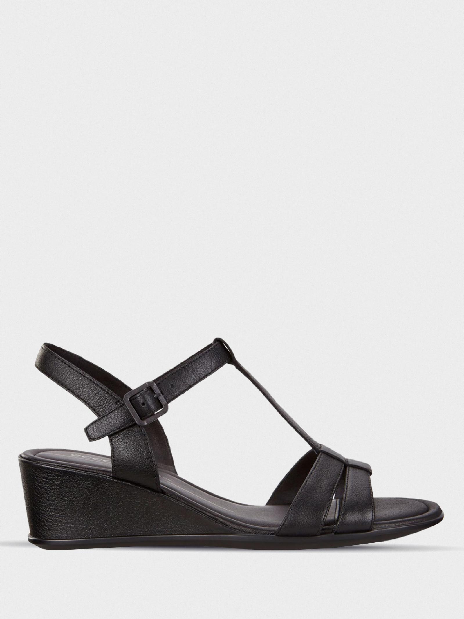 Босоножки для женщин ECCO SHAPE 35 WEDGE SANDAL 250133(01001) брендовая обувь, 2017