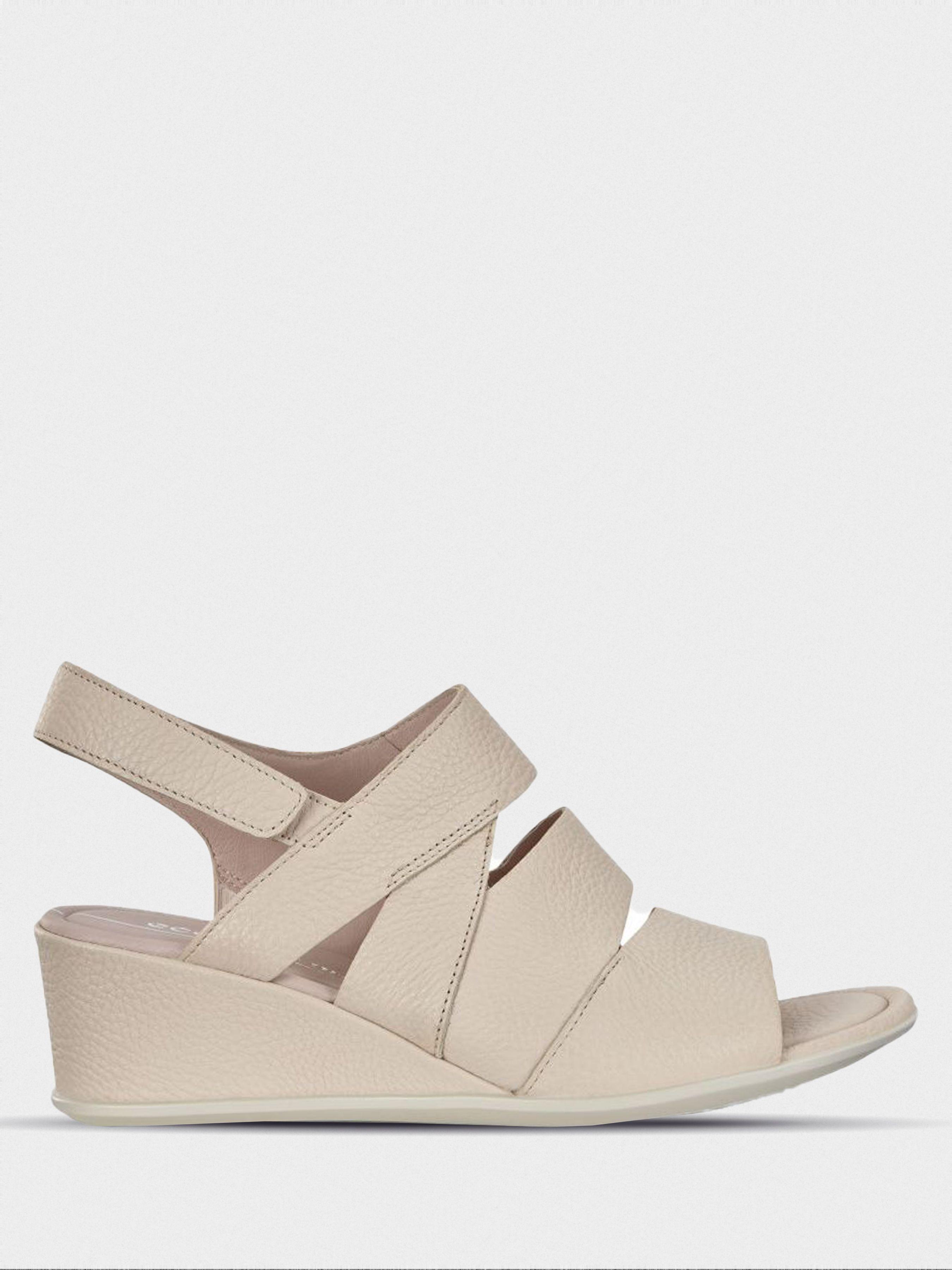Босоножки для женщин ECCO SHAPE 35 WEDGE SANDAL ZW6158 брендовая обувь, 2017