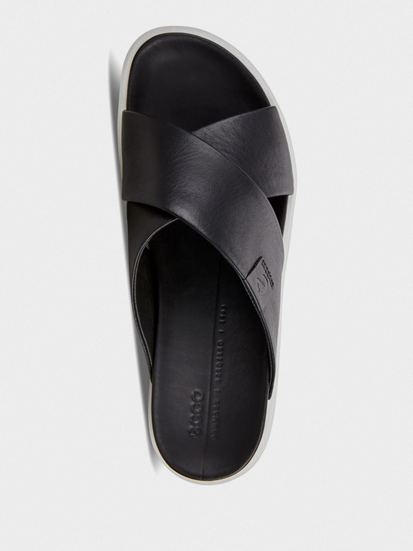 Шльопанці  для жінок ECCO FLOWT LX W 273803(01001) ціна взуття, 2017
