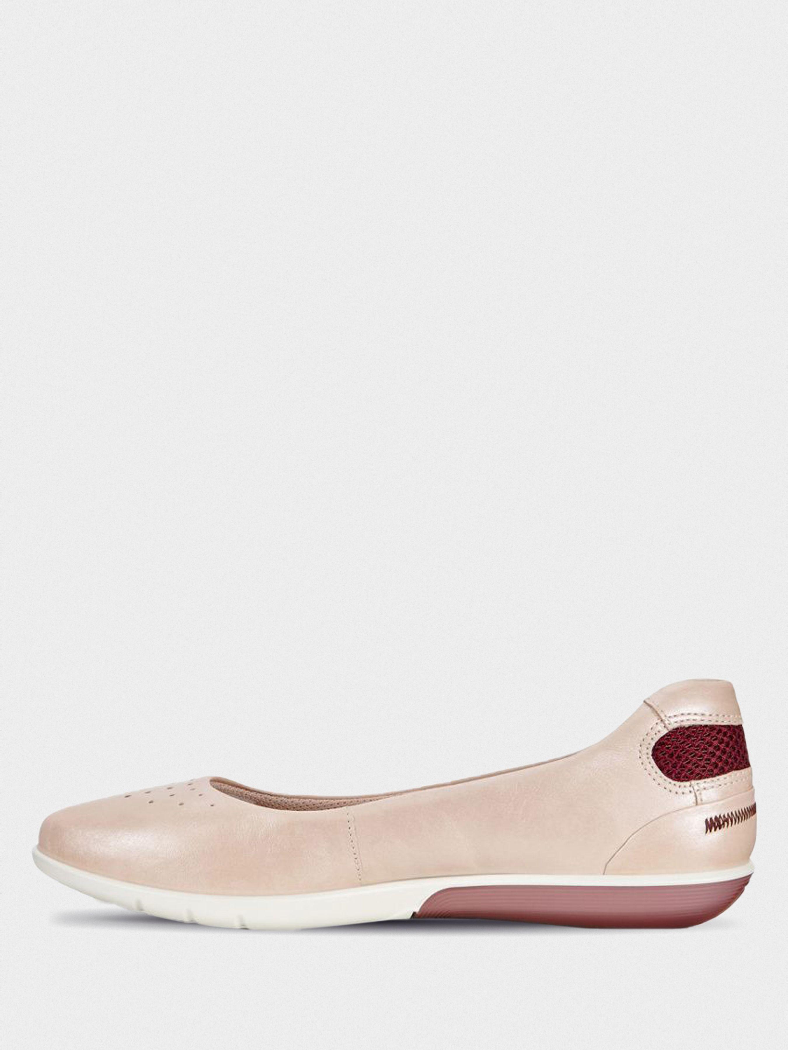 Балетки женские ECCO SENSE LIGHT ZW6251 купить обувь, 2017