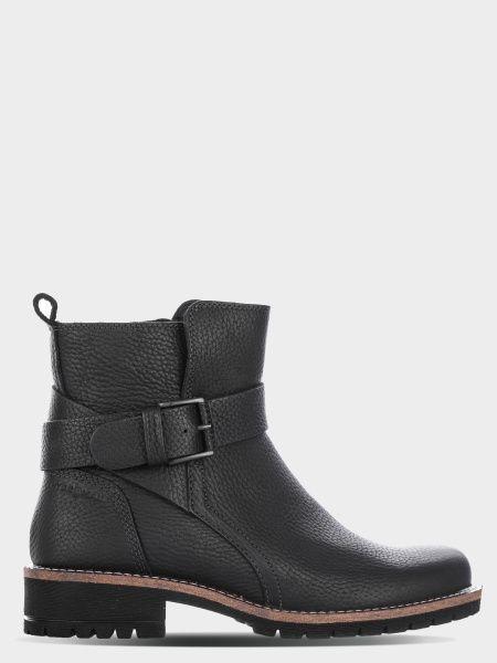 жіночі черевики ecco elaine 244723(01001) шкіряні