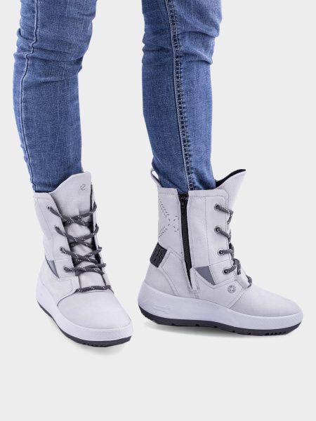 Сапоги женские ECCO UKIUK 2.0 ZW6384 брендовая обувь, 2017