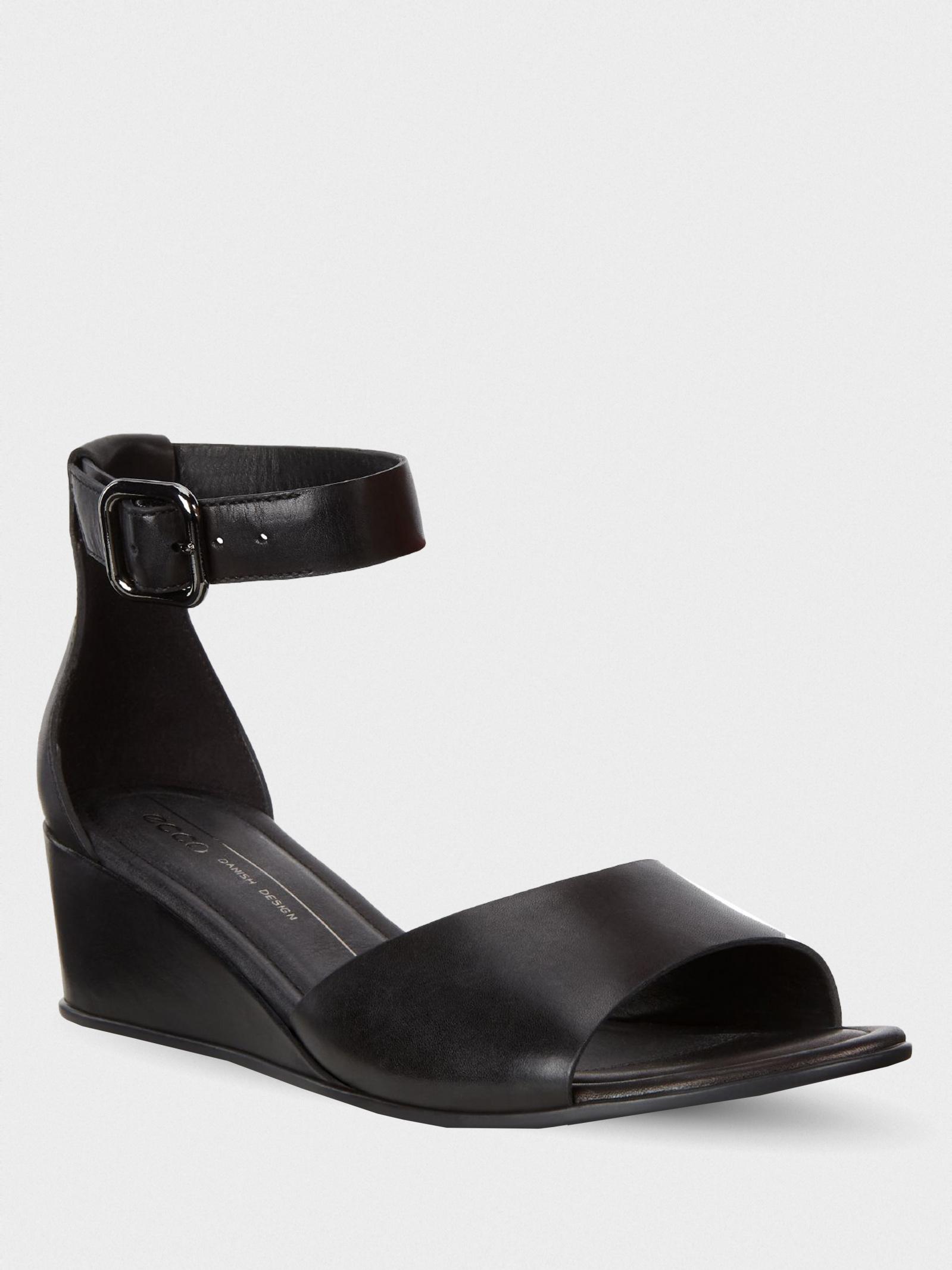 Босоніжки  для жінок ECCO 250183(01001) купити взуття, 2017