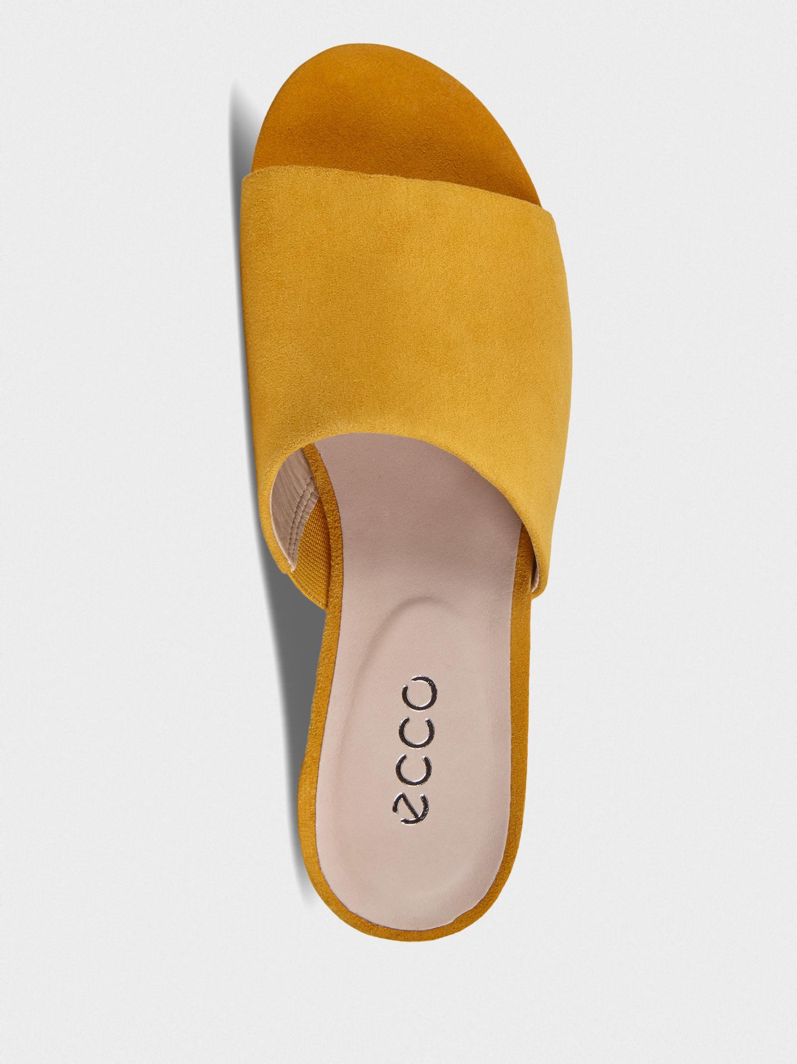 Шльопанці  для жінок ECCO W FLAT SANDAL II 208403(05366) розмірна сітка взуття, 2017