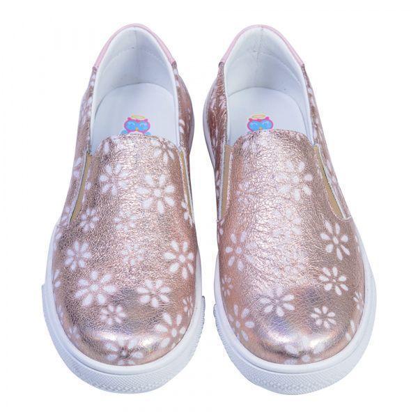 Cлипоны детские Слипоны для девочек 417 ZZ-TL-45-417 брендовая обувь, 2017