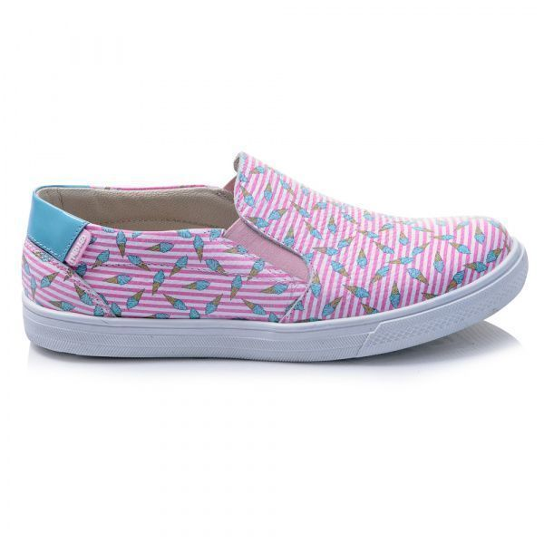 Cлипоны детские Слипоны для девочек 441 ZZ-TL-45-441 брендовая обувь, 2017