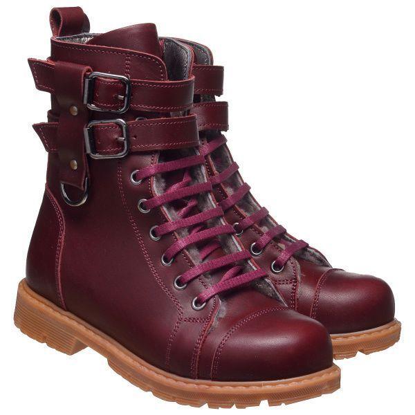 для детей Зимние ботинки для девочек 630 ZZ-TL-45-630 брендовая обувь, 2017