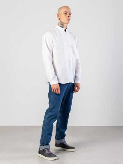 Сорочка з довгим рукавом Etnodim модель apollo_white_etnd — фото 2 - INTERTOP