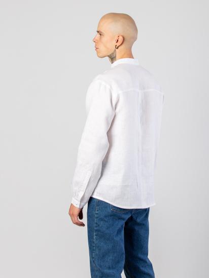 Сорочка з довгим рукавом Etnodim модель apollo_white_etnd — фото 3 - INTERTOP