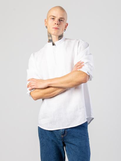 Сорочка з довгим рукавом Etnodim модель apollo_white_etnd — фото 4 - INTERTOP