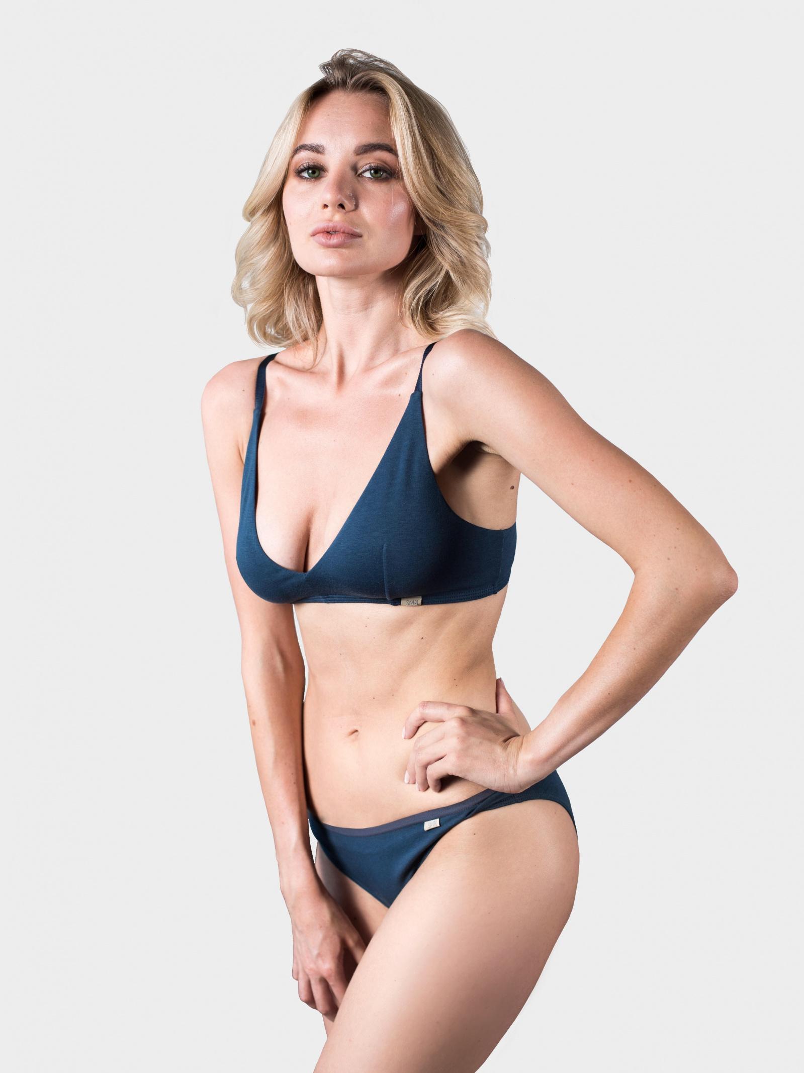 SMPL Underwear Спідня білизна жіночі модель br.w.02.darkblue придбати, 2017