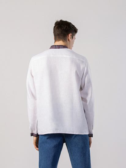 Сорочка з довгим рукавом Etnodim модель ed10_etnd — фото 4 - INTERTOP
