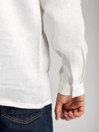 Сорочка з довгим рукавом Etnodim модель ed17white_etnd — фото 5 - INTERTOP