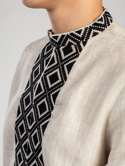 Сорочка з довгим рукавом Etnodim модель ed1_etnd — фото 3 - INTERTOP