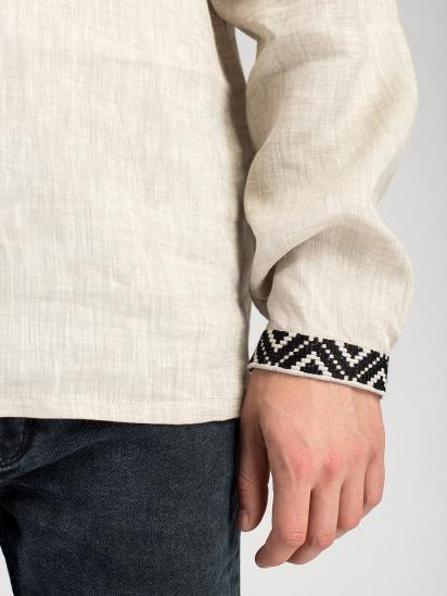 Сорочка з довгим рукавом Etnodim модель ed1_etnd — фото 4 - INTERTOP