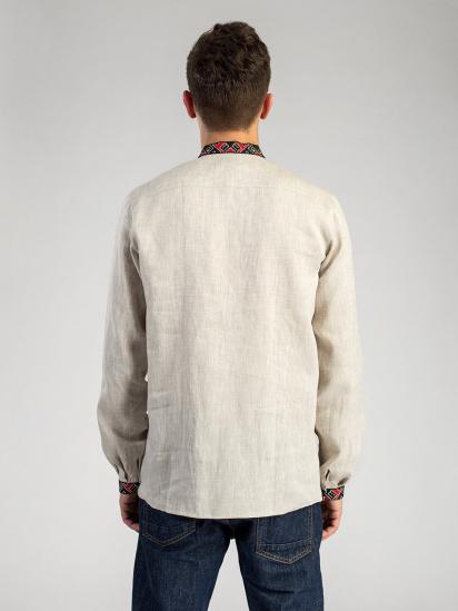 Сорочка з довгим рукавом Etnodim модель ed2_2_etnd — фото 4 - INTERTOP