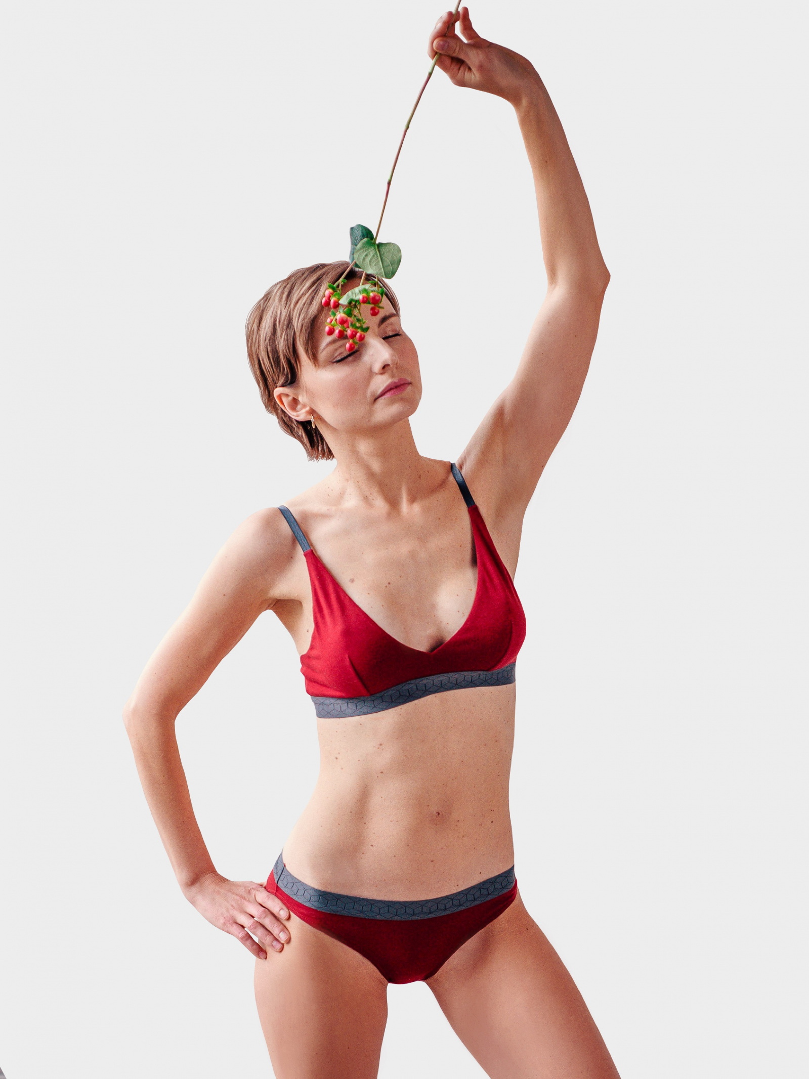 SMPL Underwear Спідня білизна жіночі модель sl.w.01.granat ціна, 2017