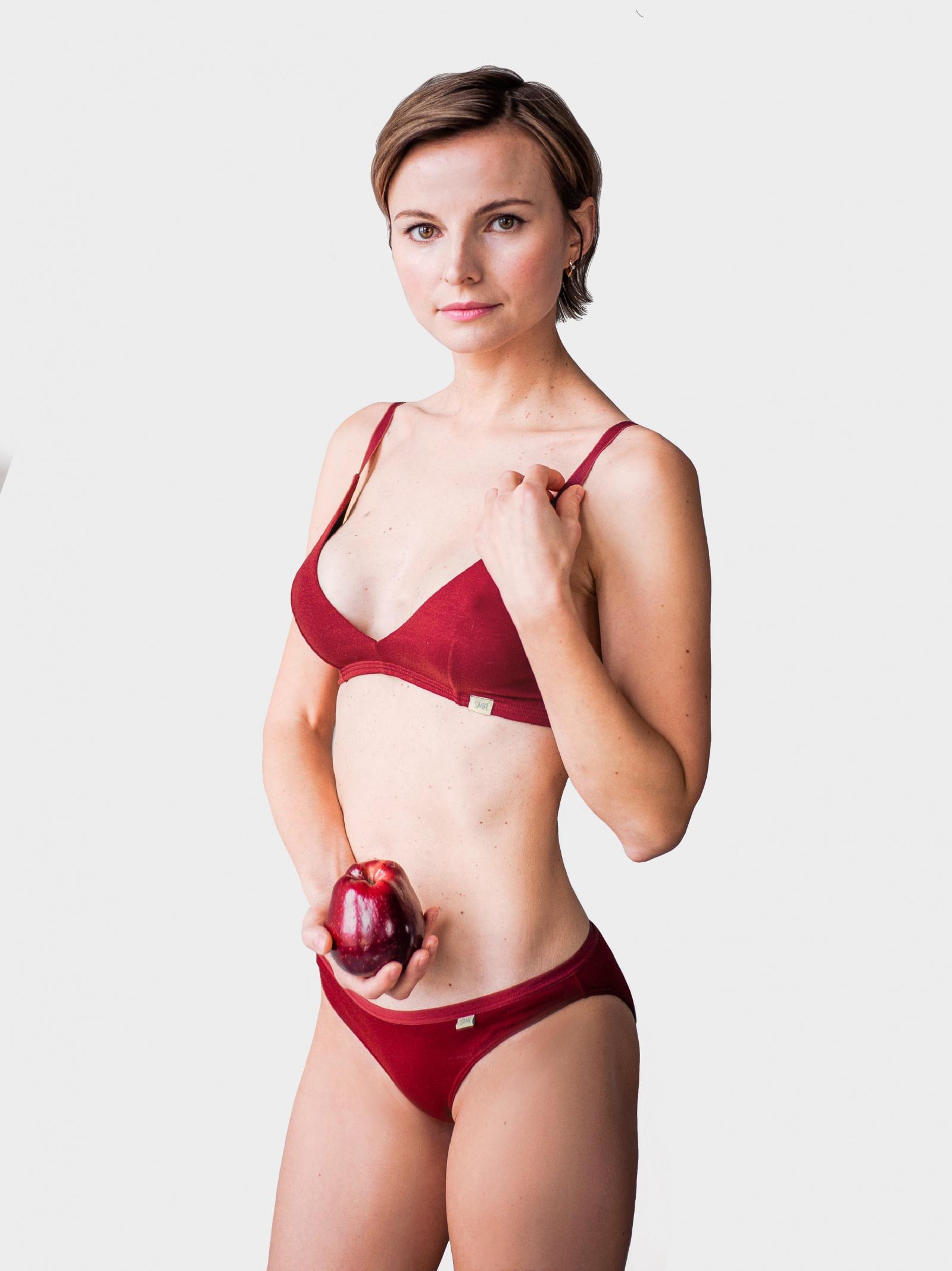 SMPL Underwear Спідня білизна жіночі модель sl.w.02.Granat купити, 2017